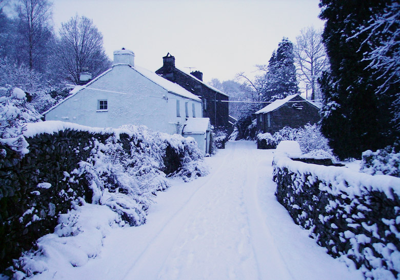 Crookabeck In Snow